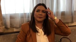 """I gave her hell!"" Dina Bonnevie on her co-star with diva attitude"