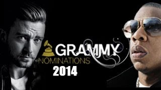 The 2014 GRAMMY AWARDS Nominatons