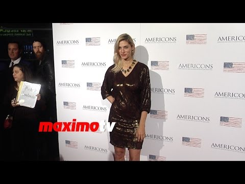Michelle Lombardo  AMERICONS Los Angeles Premiere  Red Carpet