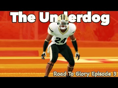 NCAA Football Road to Glory | Looking for Motivation vs Top 100 WR | The Underdog Epi 3