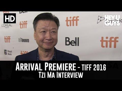 Tzi Ma Arrival Premiere   TIFF 2016