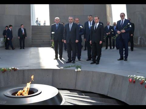 Официальный визит в Армению