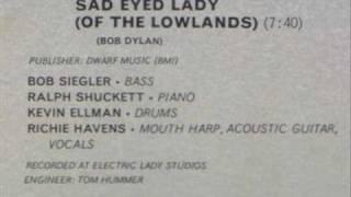 Richie Havens - Sad Eyed Lady from Mixed Bag II 1974