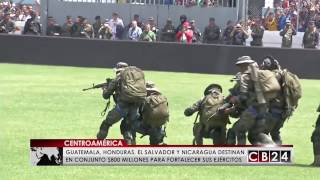 Centroamérica invierte $800 millones anuales en sus Fuerzas Armadas