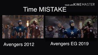 Avengers Endgame Time *WRONG* Comparison NEW YORK 2012