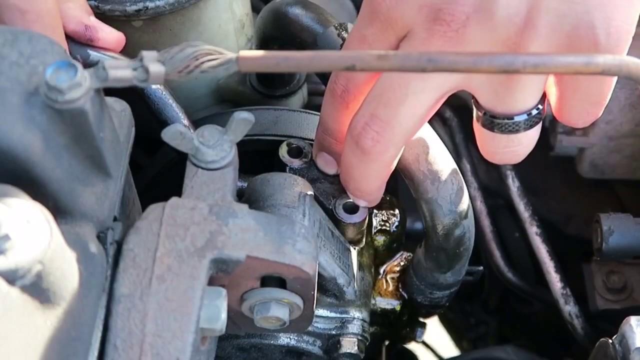 medium resolution of power steering leak fixed 1995 integra gsr
