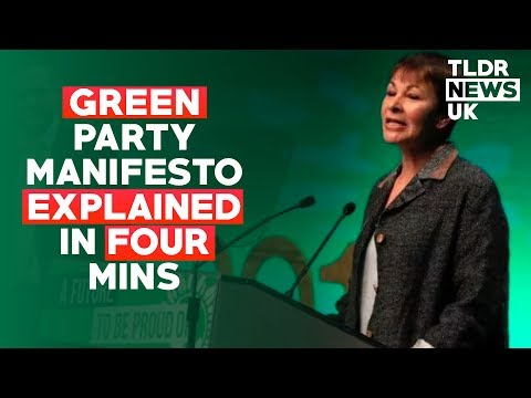 Green Party Manifesto Explained in Four Minutes