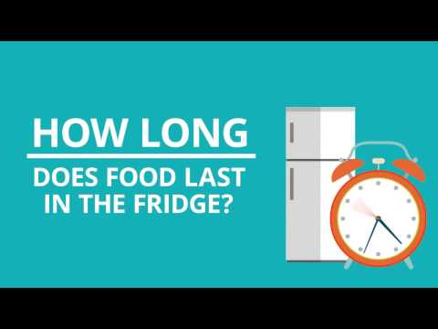Food Storage Guidelines: How Long Does Food Last in the Fridge?