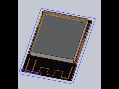 Download ESP32 WROOM 3D Modelling Using SOLIDWORKS