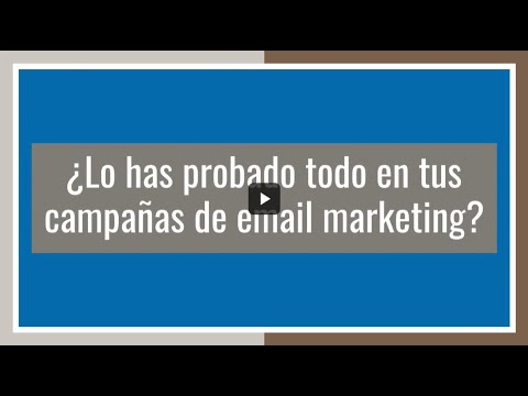 ¿Lo has probado todo en tus campañas de email marketing? ¿y no vendes?