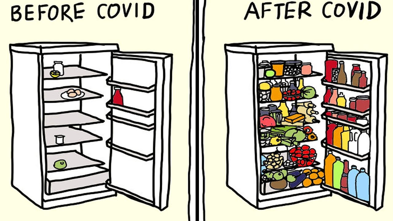 Artist Shows How The COVID-19 Pandemic Changed Our Lives In Humorous Comics
