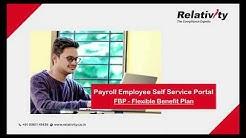 Payroll Employee Self Service Portal , FBP - Flexible Benefit Plan