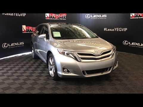 Silver 2015 Toyota Venza Limited Review Edmonton Alberta - Lexus of Edmonton