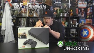 Unboxing - Xbox One S Storm Grey Edition - thepopculturists.com
