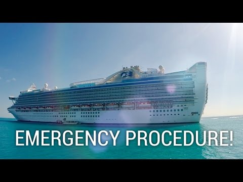 EMERGENCY PROCEDURE ON A CRUISE SHIP