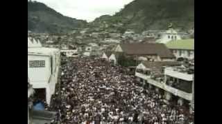 Бедный город в Гватемале посетил Бог
