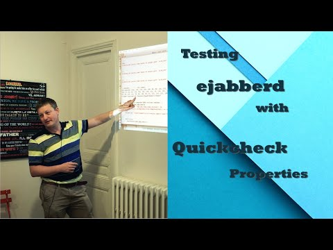 Property-based testing of XMPP: generate your tests automatically - ejabberd Workshop #1