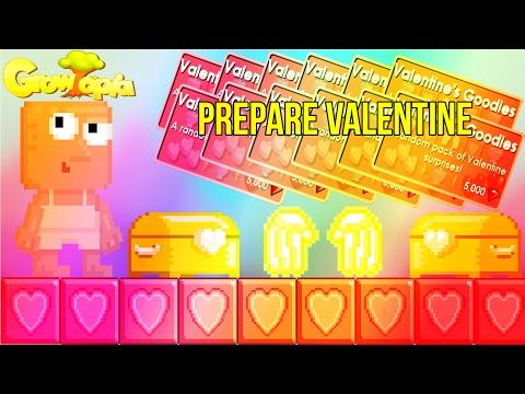 [GrowTopia] How To Prepare Valentine 2017