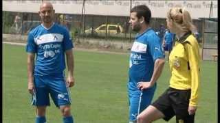 Футболно предизвикателство - Иван & Андрей срещу футболистите на Левски