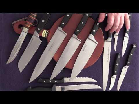 Как выбрать хороший и правильный кухонный нож .
