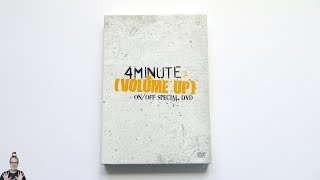 [ASMR] Unboxing 4Minute 포미닛 Volume Up On/Off Special DVD
