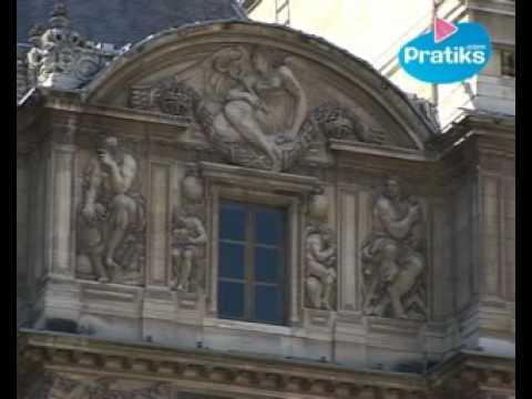 Paris Pratiks - Le pavillon Lescot au musée du Louvre