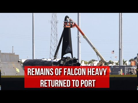 remains-of-falcon-heavy-center-core-returned-to-port-||-toppins