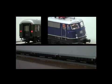 Roco Model Trains Newest DCC Digtal Technology, Locomotives And Coaches That Do More