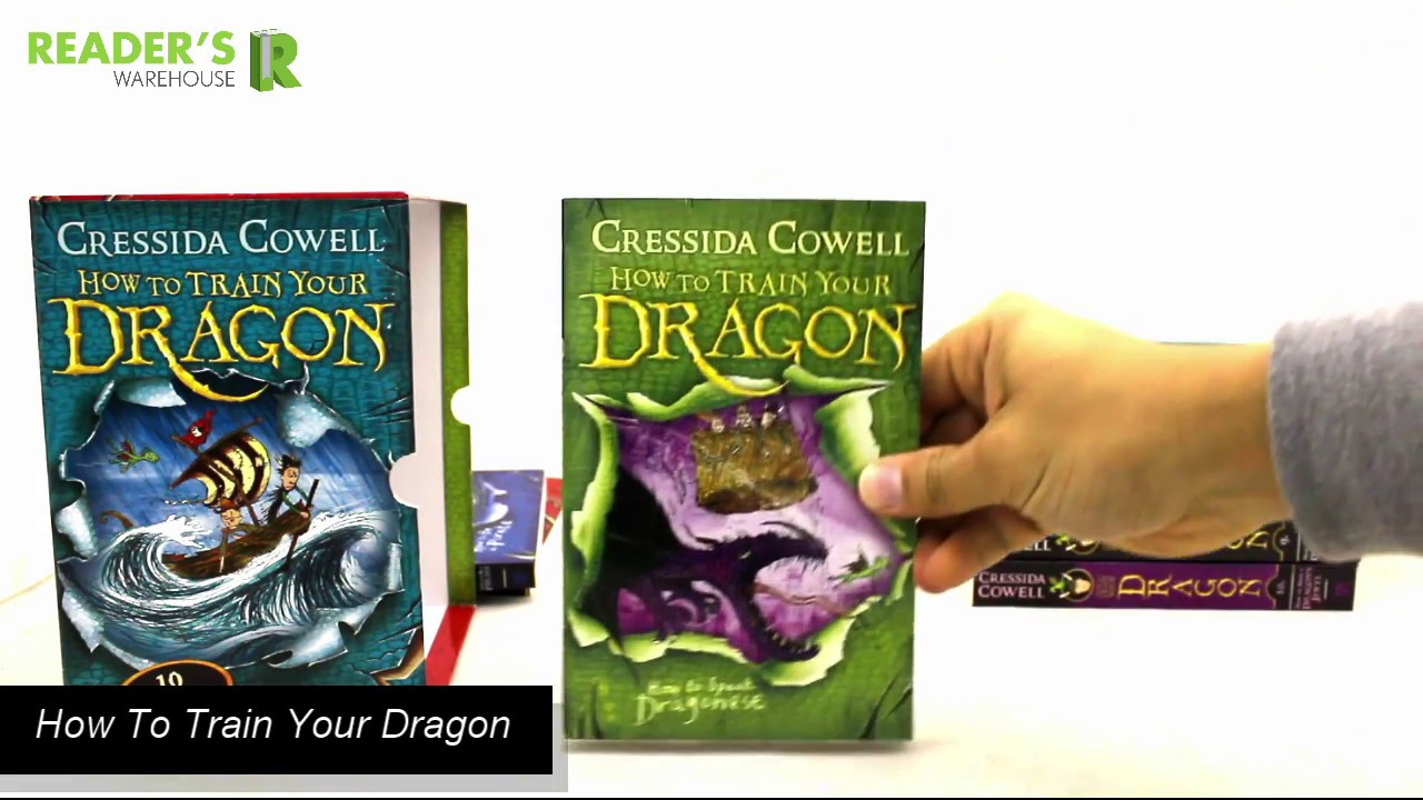 How to train your dragon 10 book slipcase readers warehouse youtube how to train your dragon 10 book slipcase readers warehouse ccuart Image collections