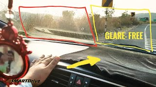 Anti glare Dashboard mat intro : smartdrive