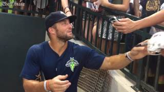 Tebow, Columbia fans have final moment together