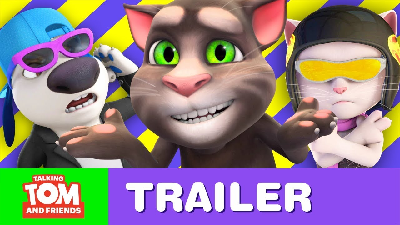 Talking Tom And Friends Cooler Things Trailer New Episodes October 5 Youtube
