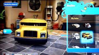 All kart bodies in Modnation Racers [HD]