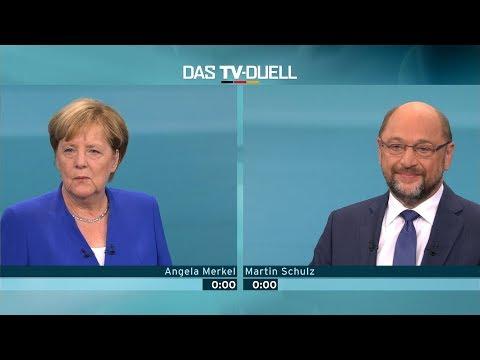 TV-Duell: Merkel gegen Schulz | gemeinsam in den Untergang