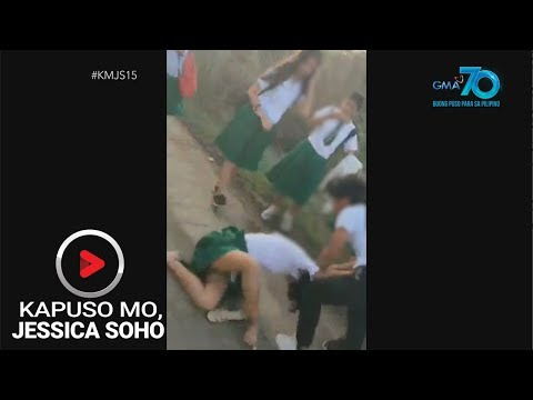 Kapuso Mo, Jessica Soho: Rambulan sa eskwelahan, caught on cam!