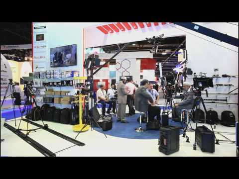 Cabsat Exhibition 2016 At Dubai World Trade Centre - Al Wesam Pro