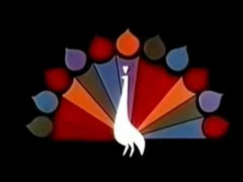 Network color opens 4 logos 1950's-60s NBC-CBS-NBC-ABC