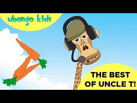 THE BEST OF UNCLE T!   Ubongo Kids   African Educational Cartoons
