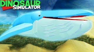 Dinosaur Simulator (Roblox) - Desabafo, Baby Blue Whale Shasta | (#114) (Gameplay)