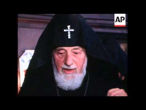 West Germany: Katholikos Of All Armenians Visit