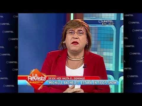 Humor: Desde Chile llega la pdte. Michelle Bachelet y Oliver se enamora de ella