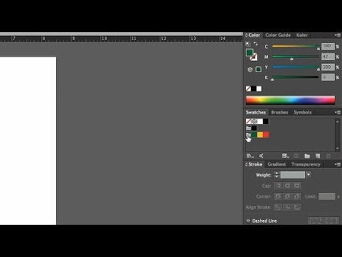 How to Create Color Groups | Adobe Illustrator