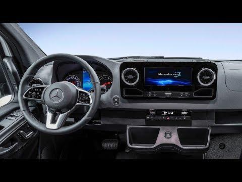 New Mercedes Benz Sprinter - interior