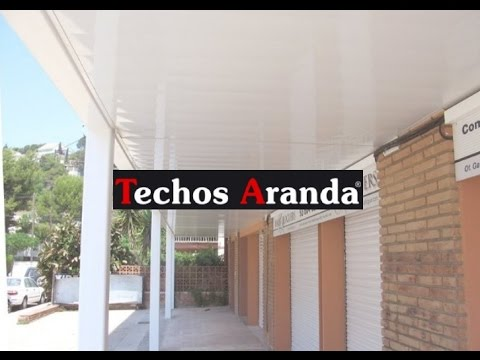 Techo ac stico falso cielo raso modular suspendido youtube - Falso techo modular ...