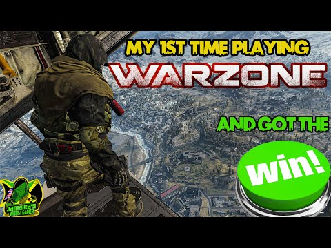 Playing Call Duty WarZone for the 1st time || WE WON || Jamaica's Worst Gamer ||