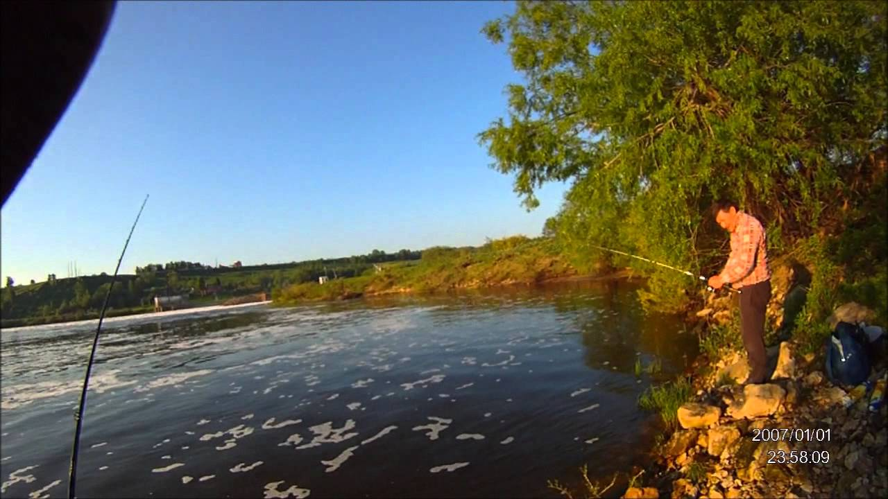 рыбалка в белоомуте на реке