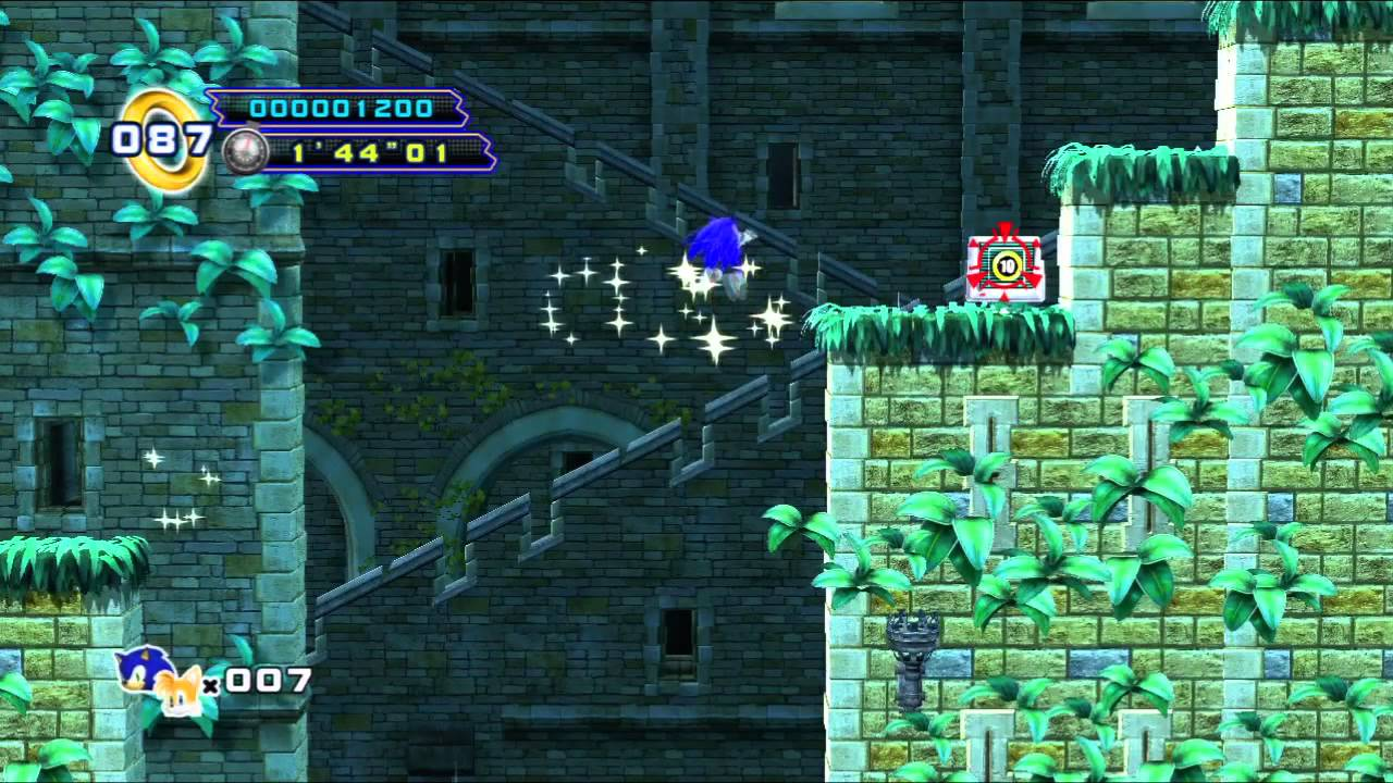 Sonic The Hedgehog 4 Episode 2 Xbox 360 Part 1 Sylvania Castle Youtube