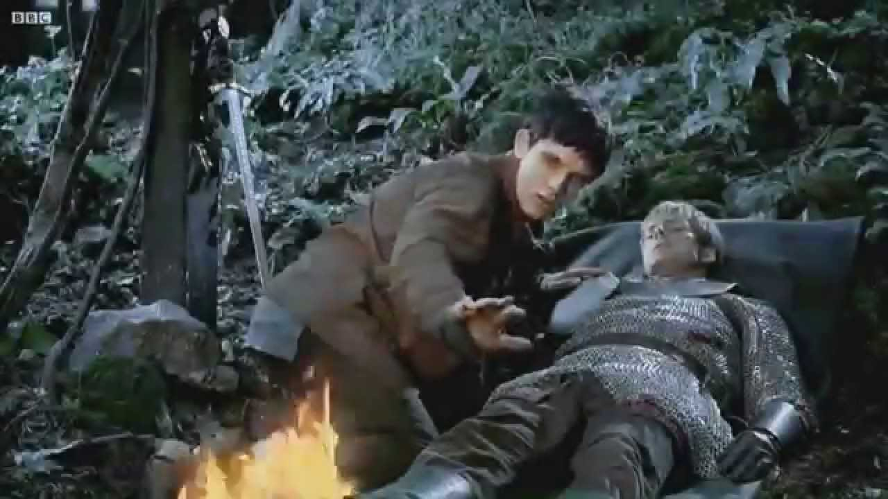 Merlin Colin Morgan Is Numb After Arthur S Death