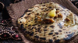 How to Make Millet Flatbread (Bajri Na Rotla)