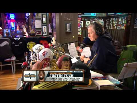 Justin Tuck on the Dan Patrick Show (Full Interview) 3/14/14